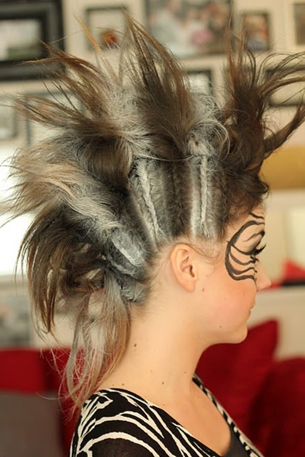 45 Fantastic Braided Mohawks To Turn Heads And Rock This