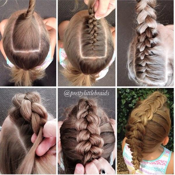 45 fantastic braided mohawks to turn heads and rock this season braided mohawk hairstyle 13 ccuart Images