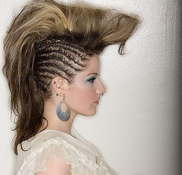 Fabulous 45 Fantastic Braided Mohawks To Turn Heads And Rock This Season Hairstyle Inspiration Daily Dogsangcom