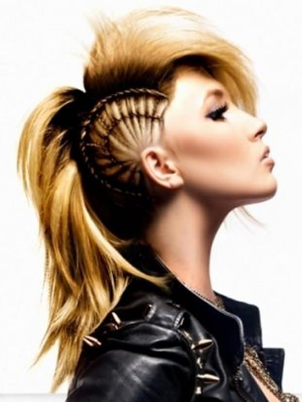 Braided Mohawk Hairstyles african braided mohawk styles Braided Mohawk Hairstyle 6