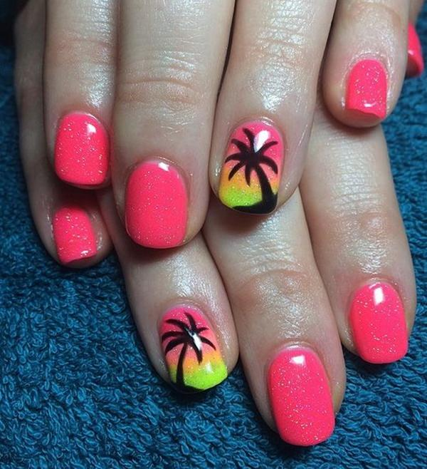 easy at home nail designs for short nails.  cute nail designs 3 32 Easy Designs for Short Nails That You Can Try at Home