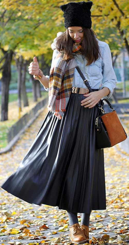 30 Maxi Skirt Looks That Will Take You From Summer Into Fall