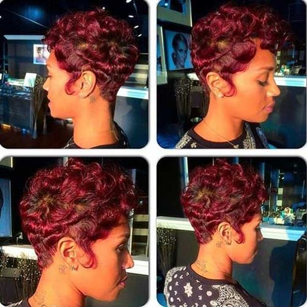Outstanding 61 Short Hairstyles That Black Women Can Wear All Year Long Hairstyle Inspiration Daily Dogsangcom