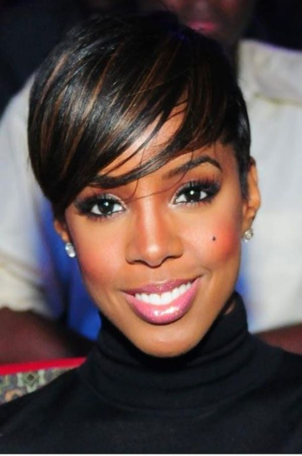Cool 61 Short Hairstyles That Black Women Can Wear All Year Long Short Hairstyles Gunalazisus