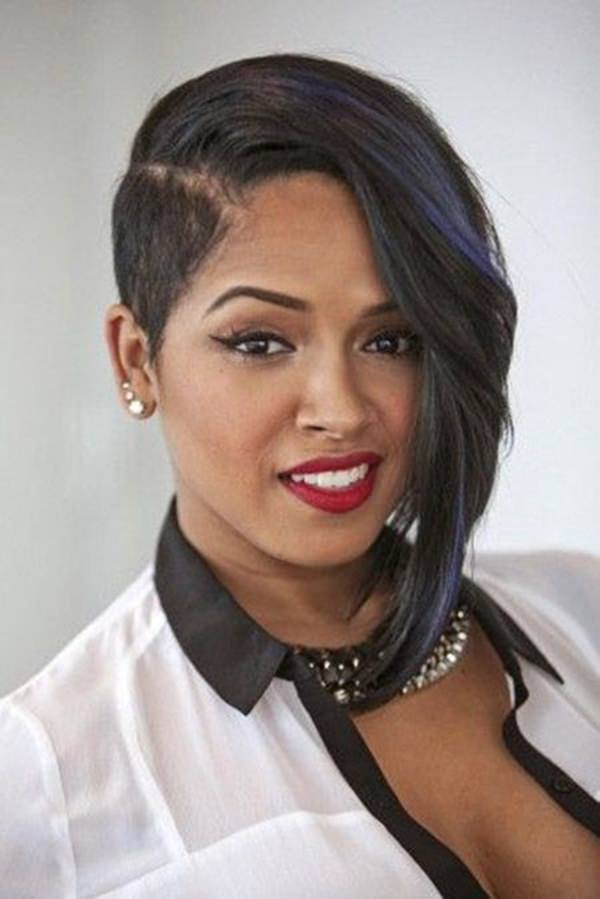 Wondrous 61 Short Hairstyles That Black Women Can Wear All Year Long Hairstyles For Men Maxibearus
