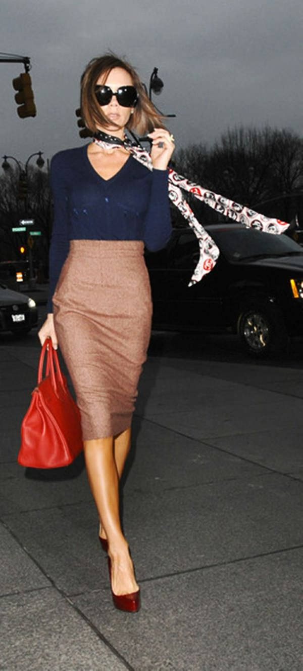 pencil skirt outfits 10