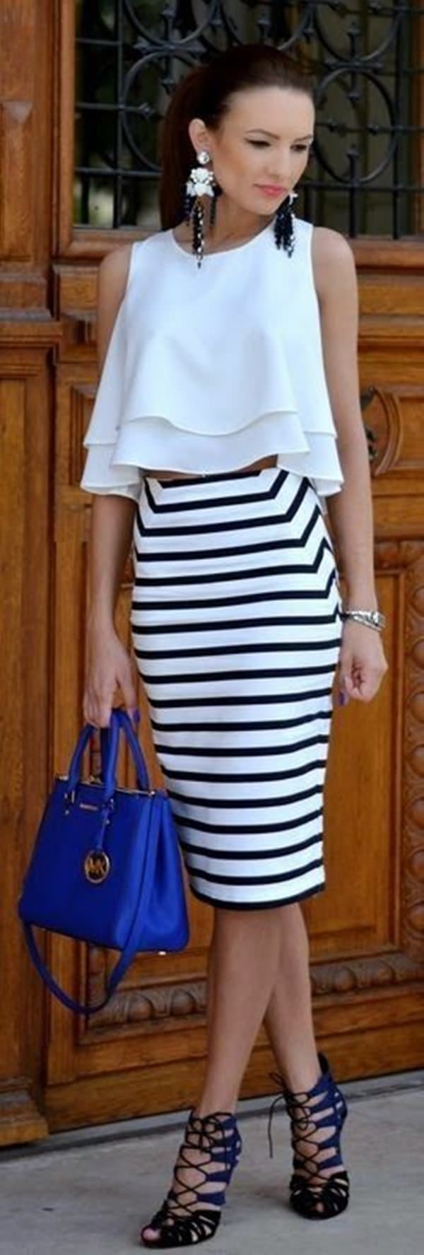 pencil skirt outfits 34