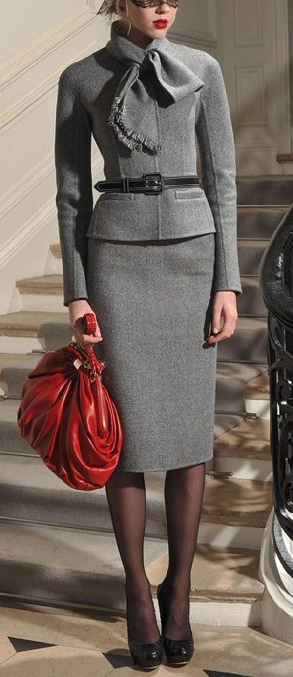 pencil skirt outfits 35