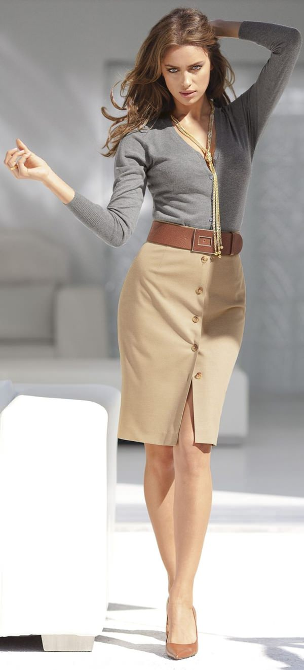 pencil skirt outfits 41