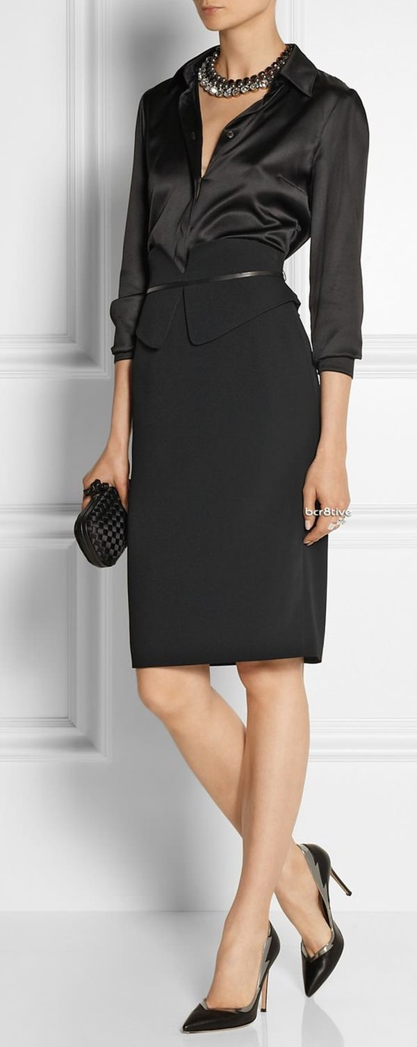 pencil skirt outfits 42