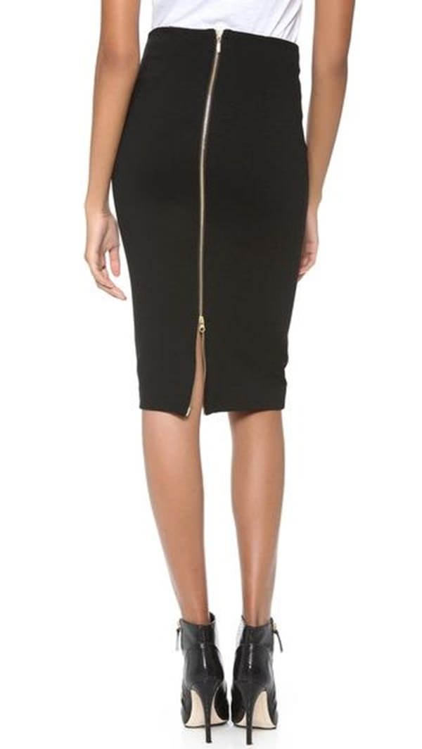 pencil skirt outfits 45