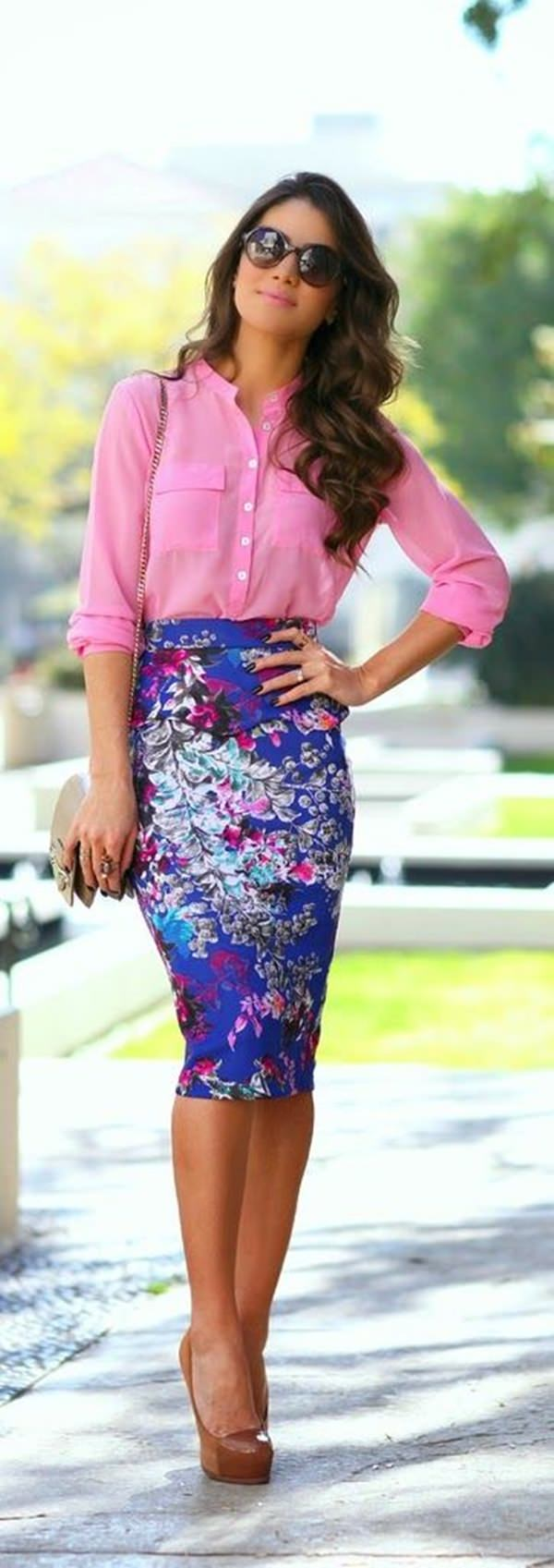 pencil skirt outfits 5
