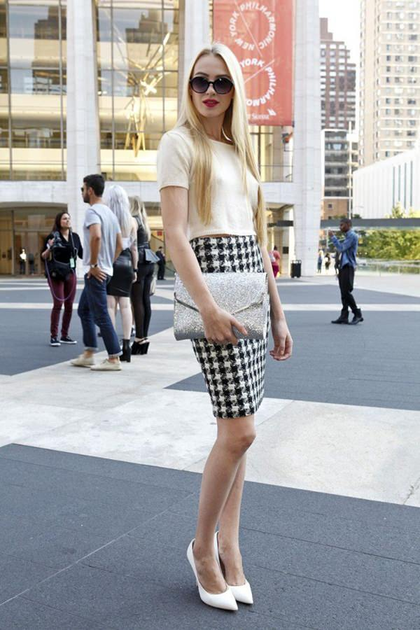 pencil skirt outfits 52