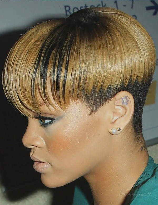 Sensational 50 Shaved Hairstyles That Will Make You Look Like A Badass Short Hairstyles For Black Women Fulllsitofus