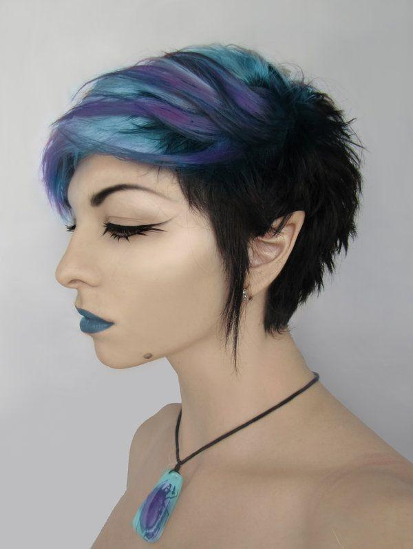 Swell 56 Punk Hairstyles To Help You Stand Out From The Crowd Hairstyles For Women Draintrainus