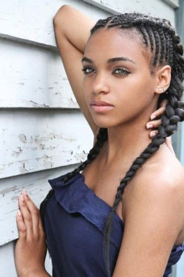 Braided Hairstyles For Black Women get ready for summer with these looks click for the top 10 summer braid hairstyles 23black Braid Hairstyles 250816