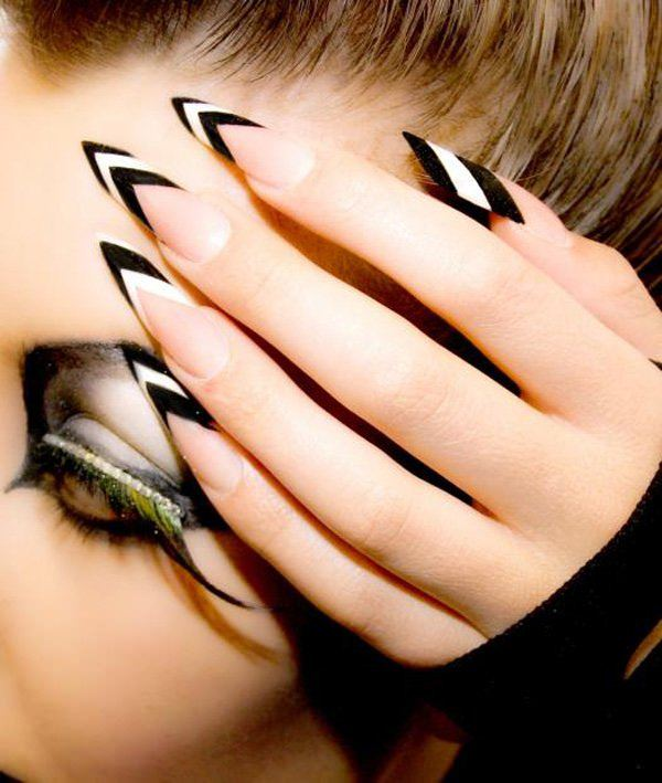 115 acrylic nail designs to fascinate your admirers 1 acrylic nails prinsesfo Image collections