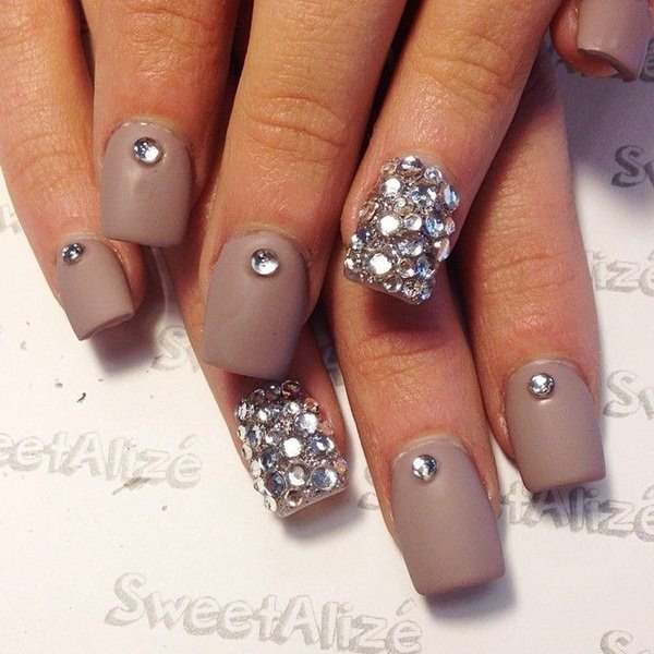 115 acrylic nail designs to fascinate your admirers 101 acrylic nails prinsesfo Choice Image
