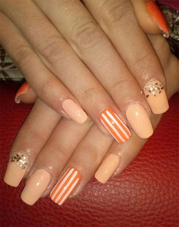 115 acrylic nail designs to fascinate your admirers 115 acrylic nails prinsesfo Gallery