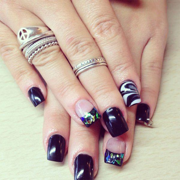 115 acrylic nail designs to fascinate your admirers 117 acrylic nails prinsesfo Choice Image