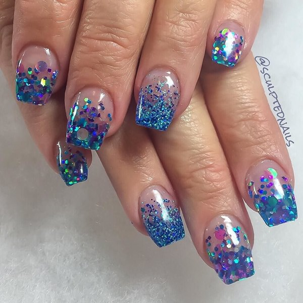 115 acrylic nail designs to fascinate your admirers 40 acrylic nails prinsesfo Choice Image