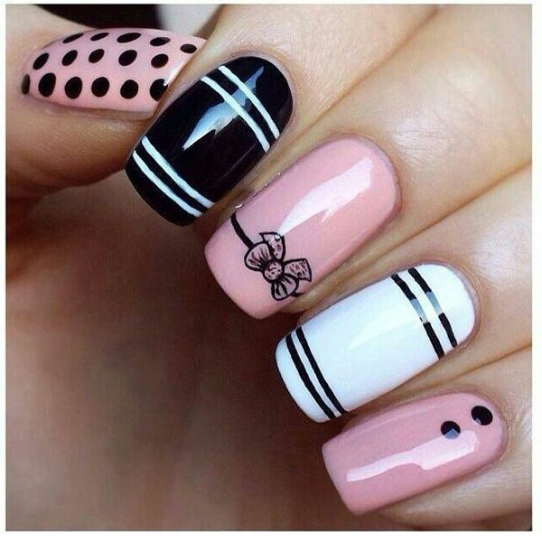 115 acrylic nail designs to fascinate your admirers 69 acrylic nails prinsesfo Images