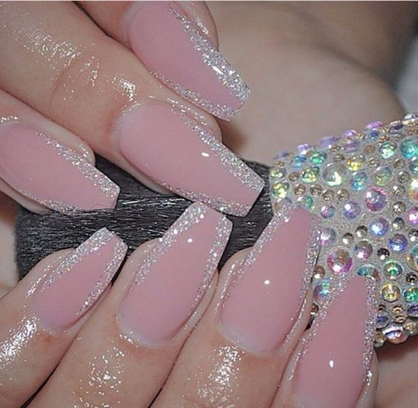 - 67 Innocently Sexy Pink Nail Designs (Photos)