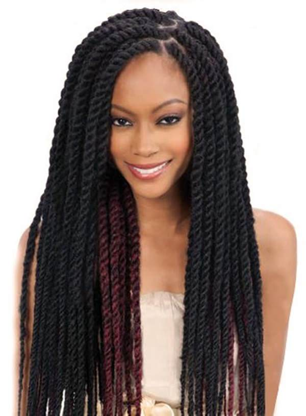 75 Amazing African Braids Check Out This Hot Trend For Summer Hairstyles Ideas American Twist