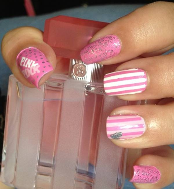 Fashion Nail Art Designs Game Pink Nails Manicure Salon: 67 Innocently Sexy Pink Nail Designs (Photos