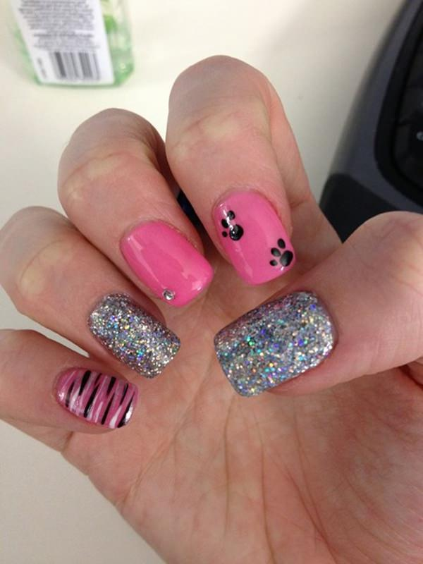 67 innocently sexy pink nail designs photos 27020216 pink nail designs prinsesfo Gallery