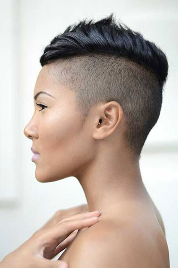 Pleasant 52 Of The Best Shaved Side Hairstyles Short Hairstyles For Black Women Fulllsitofus