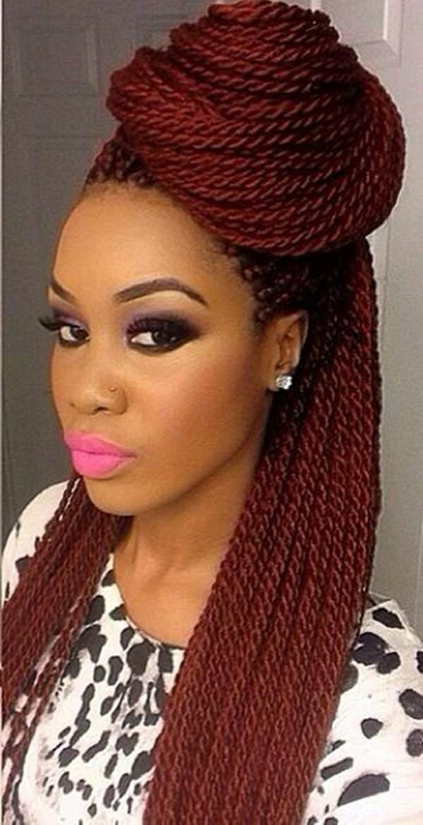 Crochet Braids Xpression Multi : 45 Photos of Rockin? Red Box Braids