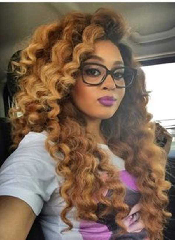 Big Crochet Hair Styles : This look is great if you want to go with a more dyed hair look. The ...