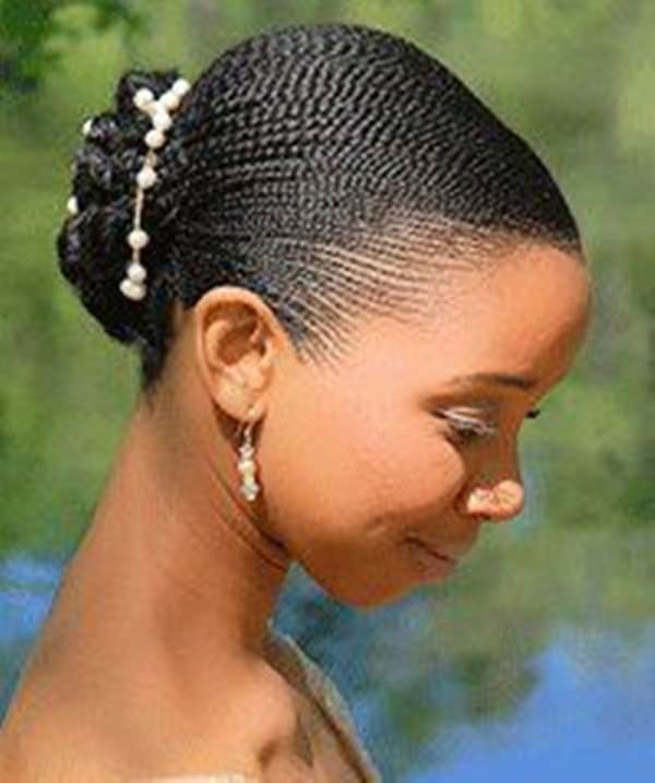 Swell African Hair Braiding Styles With Bun Braids Hairstyles For Women Draintrainus