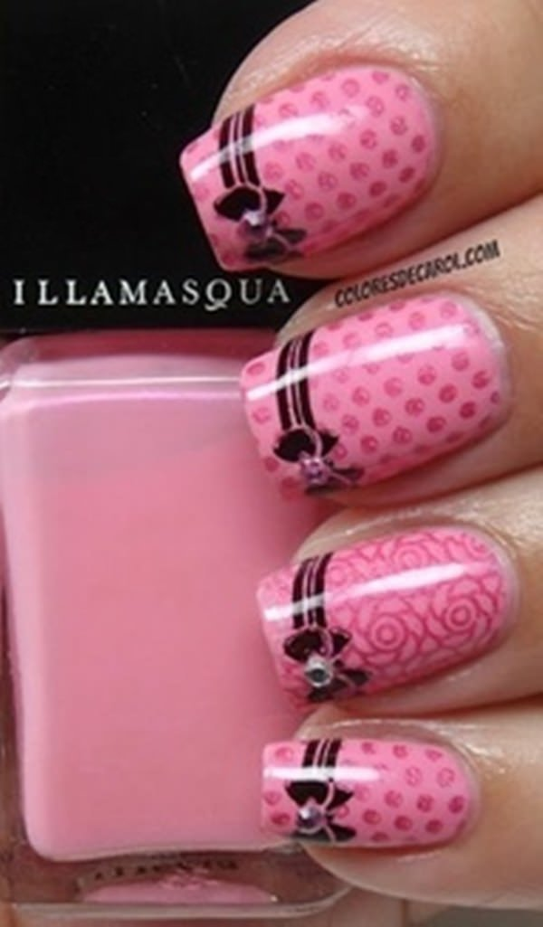 67 innocently sexy pink nail designs photos 8020216 pink nail designs prinsesfo Image collections
