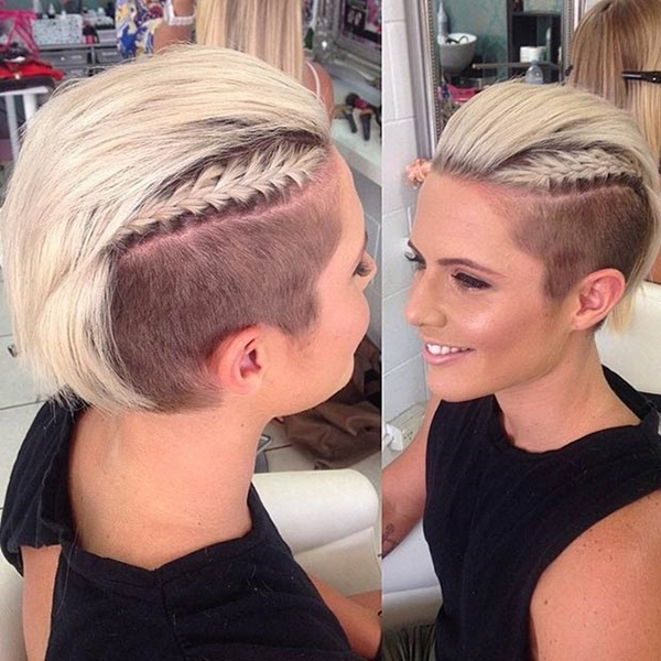 Peachy 52 Of The Best Shaved Side Hairstyles Short Hairstyles Gunalazisus
