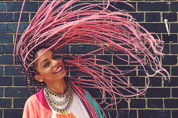 45 Photos Of Rockin Red Box Braids