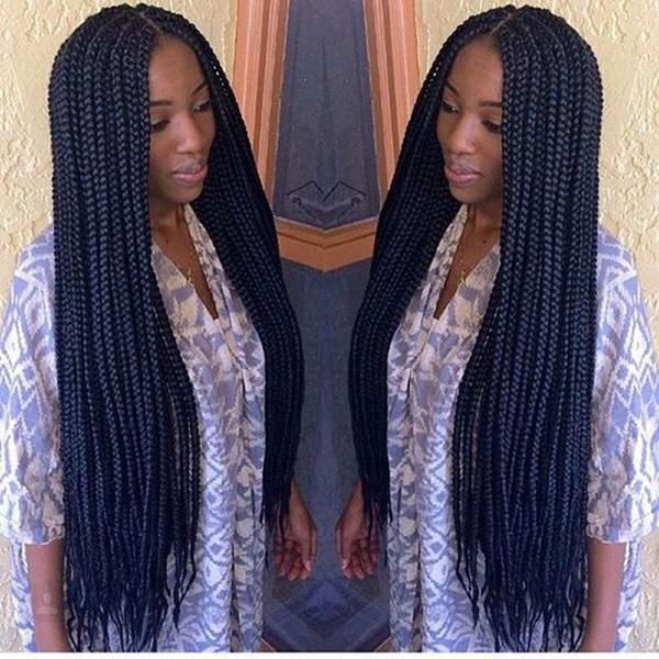 Enjoyable 79 Sophisticated Box Braid Hairstyles With Tutorial Hairstyles For Women Draintrainus