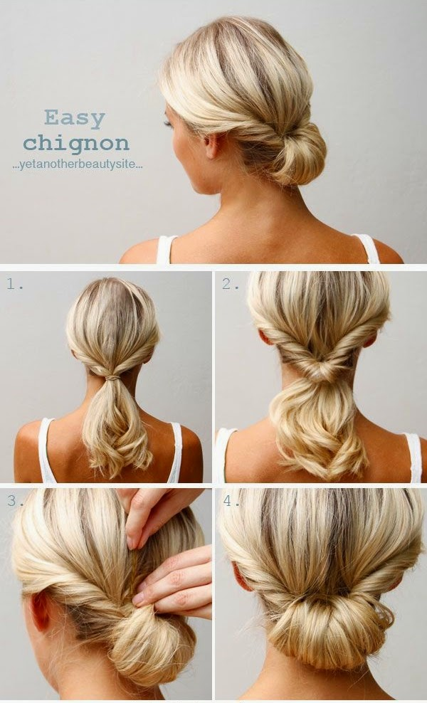 55 Do It Yourself Easy Hairstyles With Tutorial