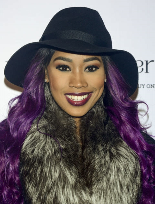 45 best hairstyles using the fashionable shade of purple for Shades of dark purple