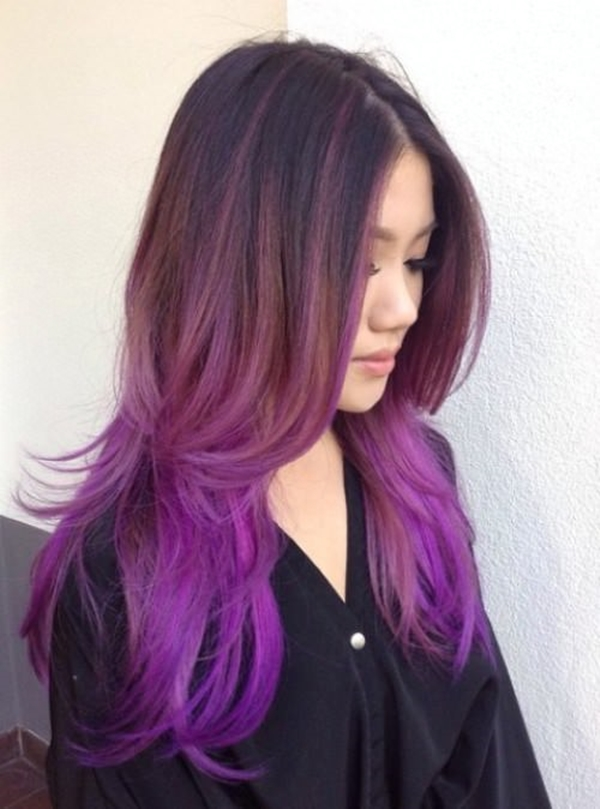 45 best hairstyles using the fashionable shade of purple 19250816 purple hair pmusecretfo Choice Image