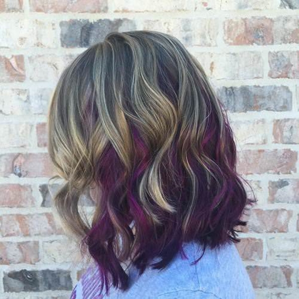 45 best hairstyles using the fashionable shade of purple 22250816 purple hair pmusecretfo Gallery