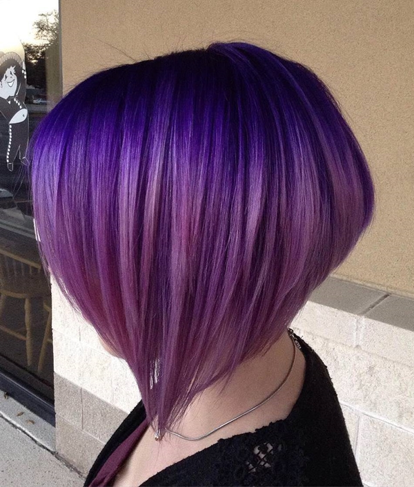45 Best Hairstyles Using The Fashionable Shade Of Purple