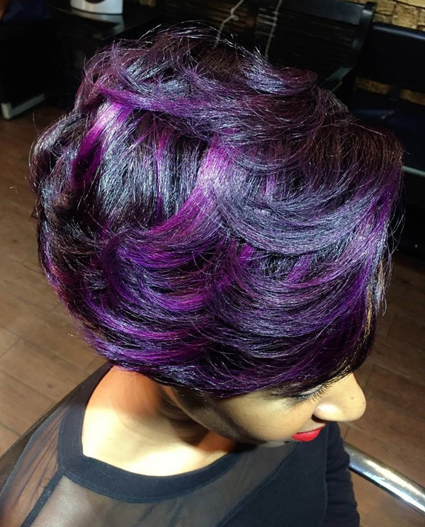 45 best hairstyles using the fashionable shade of purple 29250816 purple hair 30 softer highlights pmusecretfo Images