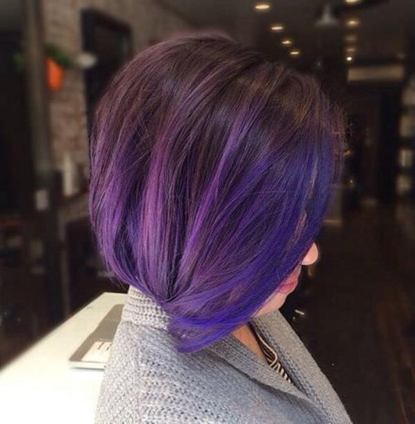45 best hairstyles using the fashionable shade of purple 37250816 purple hair pmusecretfo Images