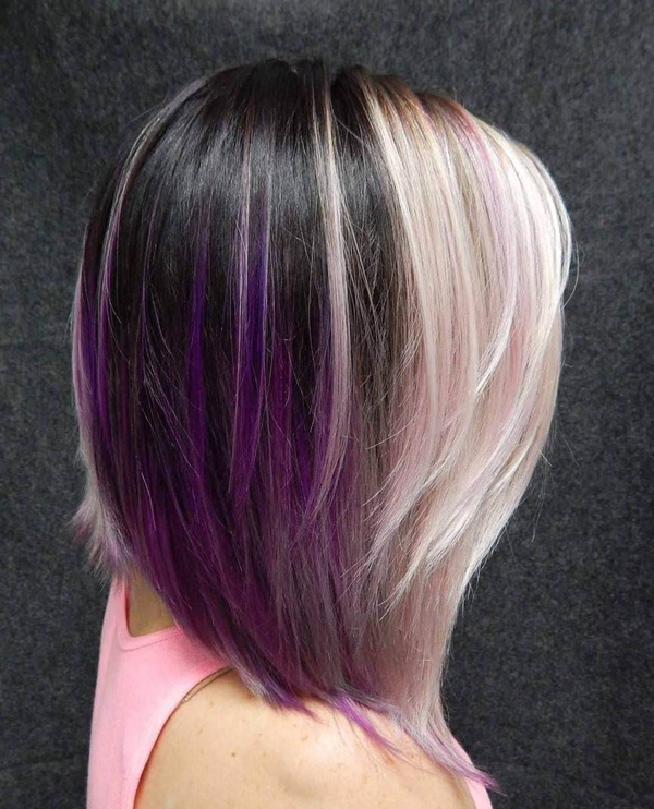 45 best hairstyles using the fashionable shade of purple 39250816 purple hair pmusecretfo Choice Image