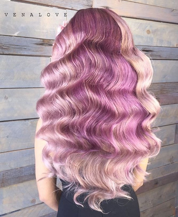 45 best hairstyles using the fashionable shade of purple 43250816 purple hair pmusecretfo Choice Image