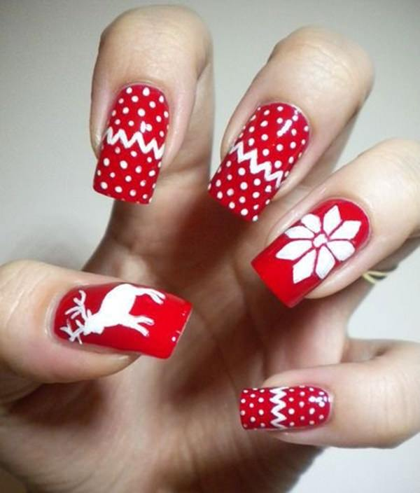 47 out of the box' Ways to Style the Classic Red Nail