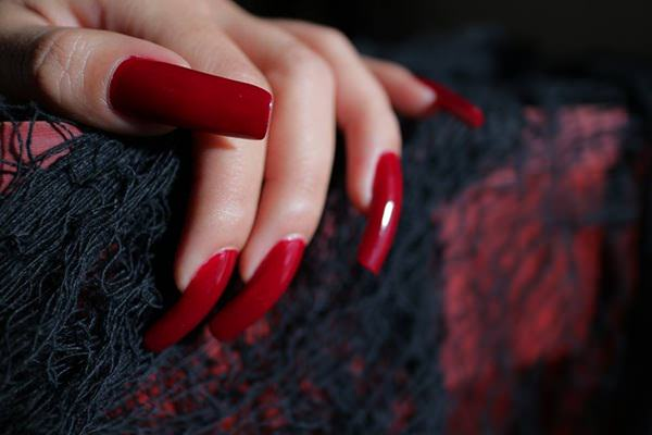 47 out of the box ways to style the classic red nail