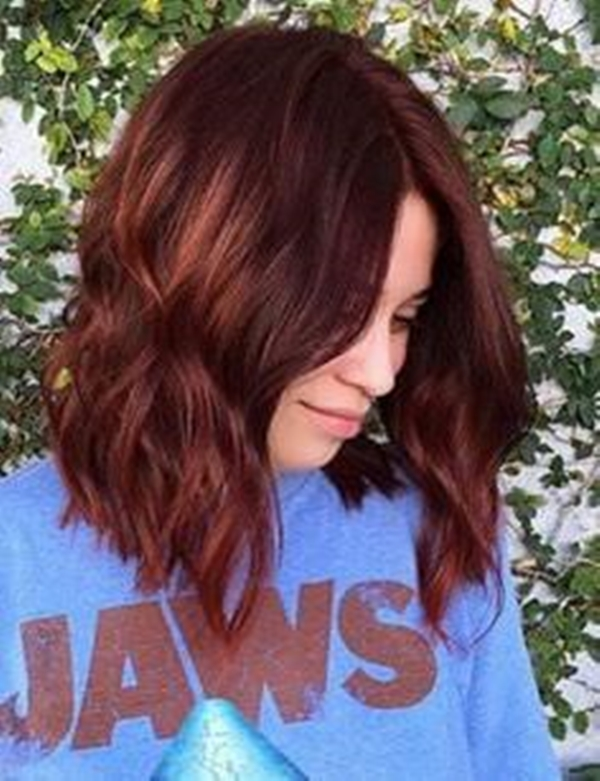 Pics Of Hair Colors And Styles 49 Of The Most Striking Dark Red Hair Color Ideas